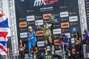 Simpson utterly emphatic to sweep Belgian MXGP