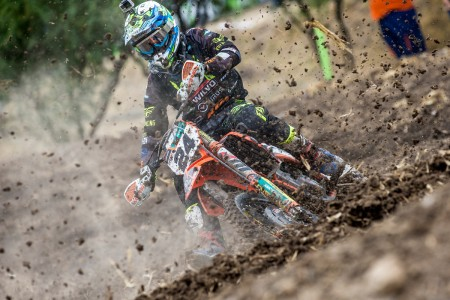 Burrito of emotion at Leon for MXGP round five