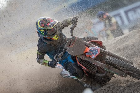 Sand surfing to moto victory in Holland